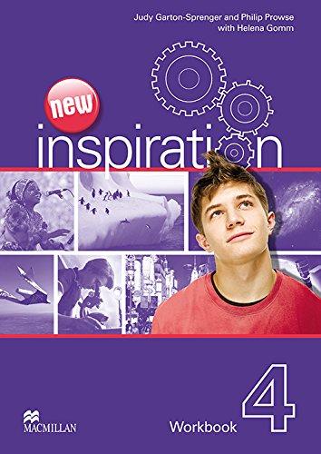 New Inspiration Level 4: Workbook (0230412572) by Judy Garton-Sprenger