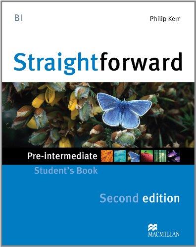 9780230414006: Straightforward Pre-Intermediate Level: Student's Book