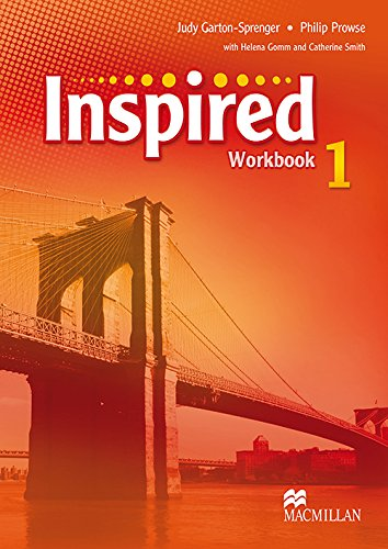 9780230415089: Macmillan Coursebook Inspired 1 Student's Workbook (AmericanEd)