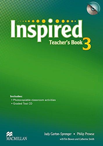 9780230415218: Inspired Level 3: Teacher's Book