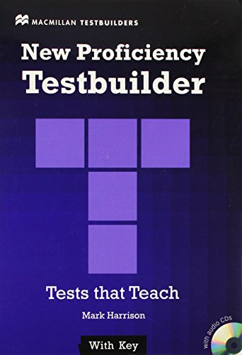 9780230415300: NEW PROFICIENCY TESTBUILDER +Key Pack