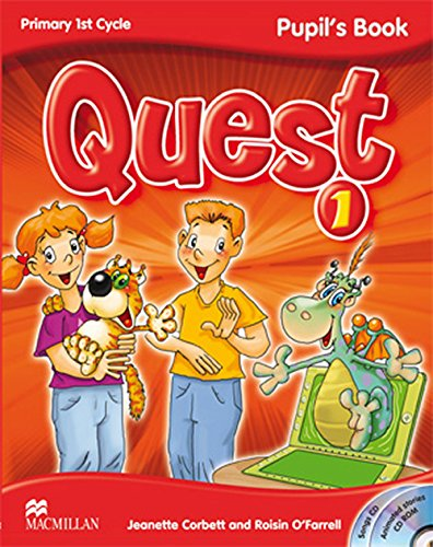 9780230415942: QUEST 1 Pupil's Book - Pack (Pupil's Book + CD-ROM + Audio CD Songs + Key Booklet 1) (Tiger) - 9780230415942