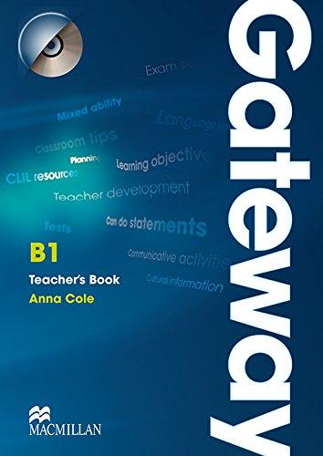 9780230417229: Gateway B1: Teacher's Book & Test CD Pack