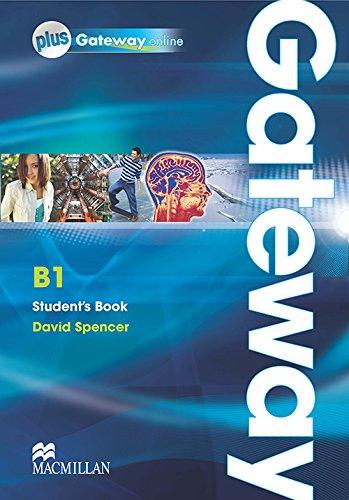 9780230417601: Gateway. B1. Student's book-Webcode. Ediz. internazionale. Con espansione online. Per le Scuole superiori