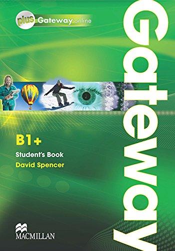 9780230417632: Gateway. B1+. Student's book-Webcode. Ediz. internazionale. Con espansione online. Per le Scuole superiori