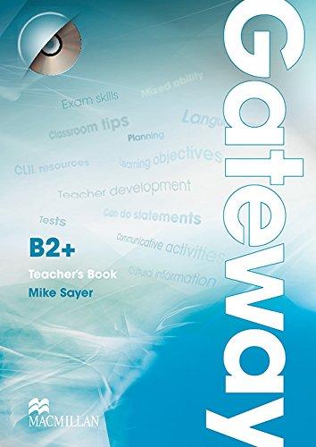 9780230417656: Gateway B2+: Teacher's Book & Test CD Pack