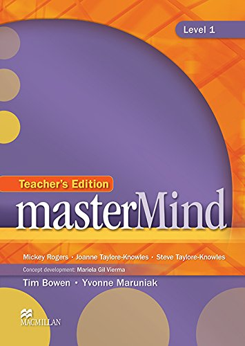 9780230418844: MasterMind Level 1: Teacher's Edition & Webcode