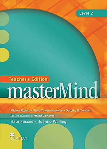 9780230418998: MasterMind Level 2: Teacher's Edition & Webcode