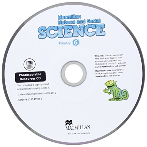 Macmillan Natural and Social Science Level 6 Photocopiable Resources CD: Shaw D.; Riach M.