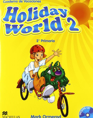 9780230422612: Holiday world 2º primaria + cd - cuaderno de vacaciones