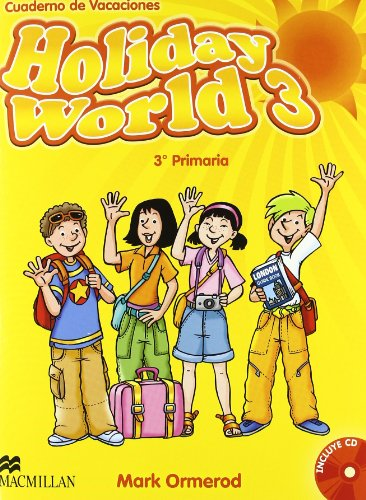 9780230422674: Holiday world 3� primaria + cd - cuaderno de vacaciones