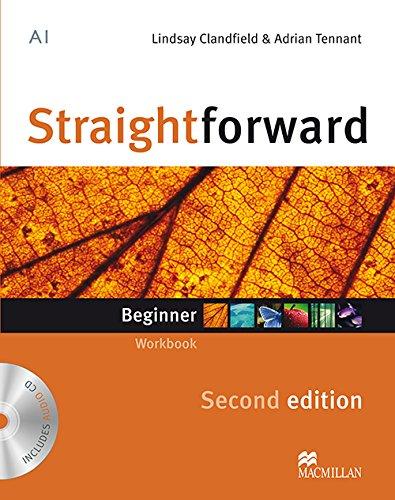 9780230422964: Straightforward Second Edition Workbook -Key & CD Beginner L