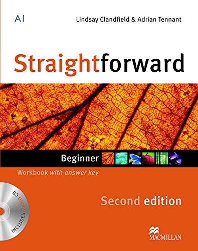 9780230422971: Straightforward Second Edition Workbook (+ Key) + CD Pack Be