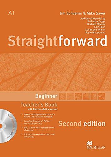 9780230423015: Straightforward (2nd Edition) Beginner Teacher's Book Pack