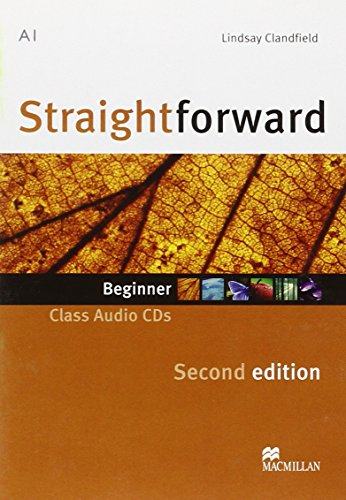 9780230423022: Straightforward Second Edition Class Audio CD Beginner Level