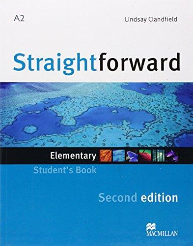 9780230423053: Straightforward 2nd Edition Elementary Level Student's Book