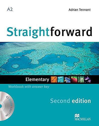 9780230423060: New Straightforward. Elementary. Workbook. With key. Per le Scuole superiori