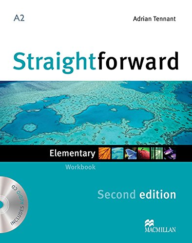 9780230423077: STRAIGHTFORWARD Elem 2nd ED Wb Pk -Key