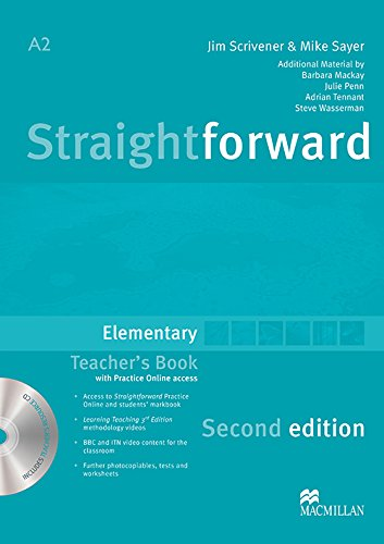 9780230423114: Straightforward Elementary Level: Teacher's Book Pack