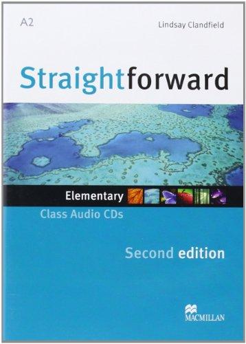 9780230423121: Straightforward (2nd Edition) Elementary Class Audio CDs (2)