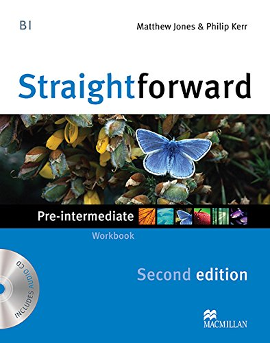 9780230423152: Straightforward Pre-Intermediate Level: Workbook Without Key + CD