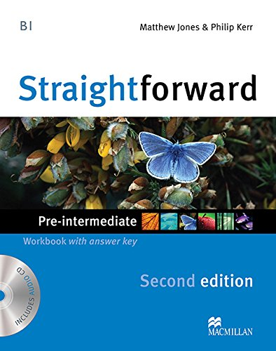 9780230423169: Straightforward Pre-Intermediate Level: Workbook with Key + CD