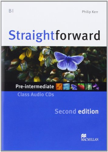 9780230423220: Straightforward Pre-intermediate Level: Class Audio CD