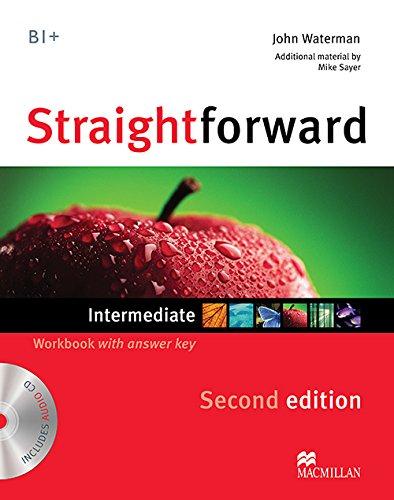 9780230423268: Straightforward Intermediate Level: Workbook with Key + CD