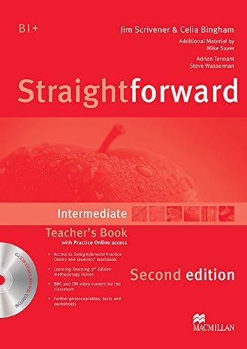 9780230423305: Straightforward Intermediate Level: Teacher's Book Pack