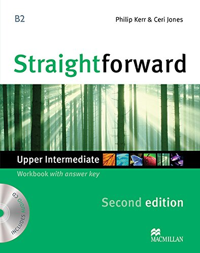9780230423350: Straightforward Upper Intermediate Level: Workbook with Key + CD
