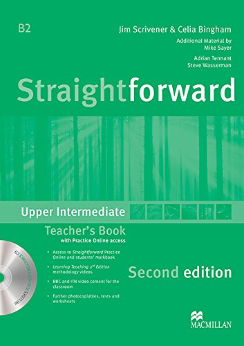 9780230423404: Straightforward Upper Intermediate Level: Teacher's Book Pack