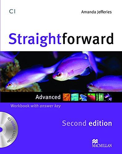 9780230423466: Straightforward (2nd Edition) Advanced Workbook with Key & Audio CD