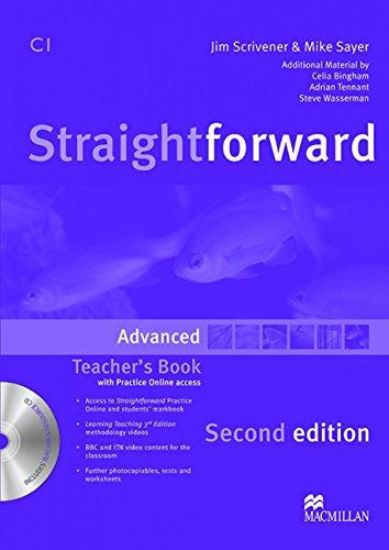 9780230423503: Straightforward Advanced Level Teachers Book Pack 2E