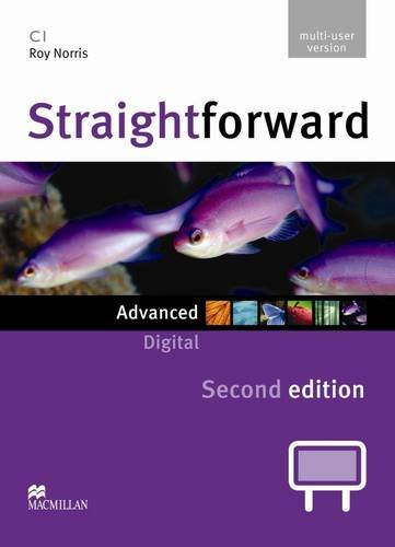 9780230423596: Straightforward 2nd Edition Advanced Level Digital DVD Rom M