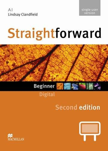 9780230424166: Straightforward Second Edition IWB DVD-ROM (Single User) Beginner Level: Beginner