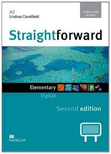 9780230424227: Straightforward 2nd Edition Elementary Level Digital DVD Rom Single User