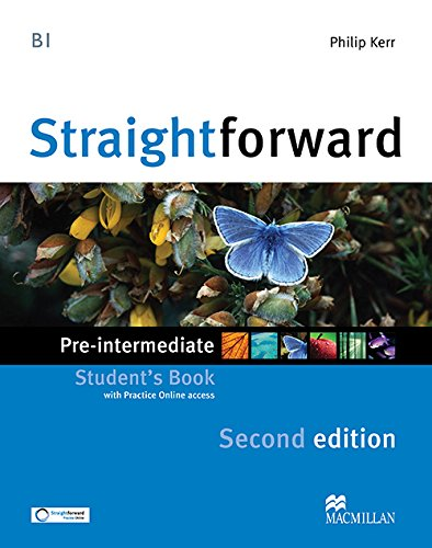 9780230424463: STRAIGHTFORW Pre-Int 2nd Sts & Webcode (Straightforward)