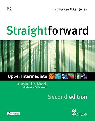 9780230424487: STRAIGHTFORWARD Up-Int 2nd Sts & Webcode