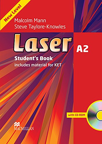 9780230424739: Laser A2: Student's Book + CD-ROM Pack
