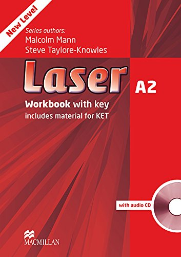 9780230424746: Laser A2: Workbook with Key + Audio CD Pack