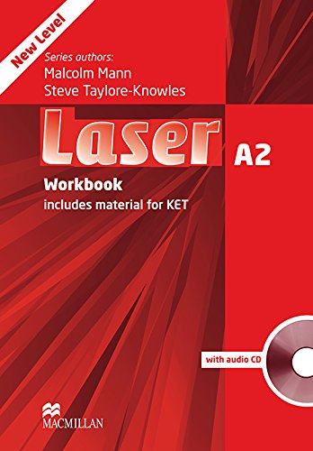 9780230424753: Laser A2: Workbook Without Key + Audio CD Pack
