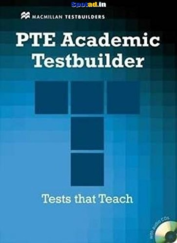9780230427860: Pte Academic Testbuilder: Student's Book + Audio Pack