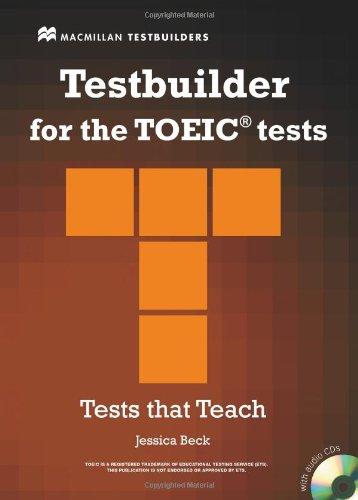 9780230427891: Testbuilder for the TOEIC Tests (Macmillan Testbuilders)