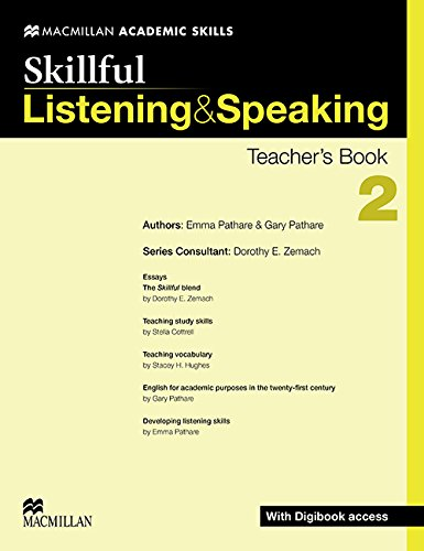 9780230429918: Skillful Listening and Speaking Teacher's Book + Digibook + Audio CD Level 2