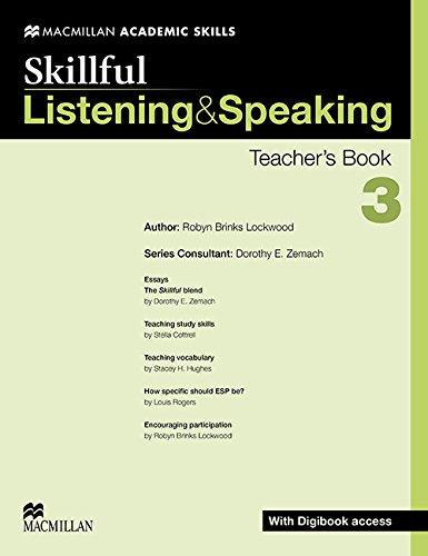 9780230430020: Skillful - Listening & Speaking - Level 3 Teacher Book + Digibook