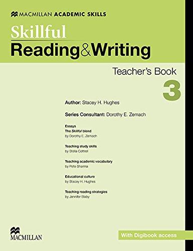 Skillful Lev 3 Reading & Writing Teacher (Hardcover): Dorothy E. Zemach