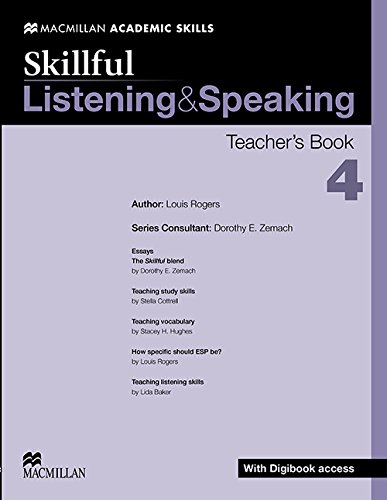 9780230430136: Skillful - Listening & Speaking - Level 4 Teacher Book + Digibook + Audio CD