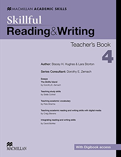 9780230430143: Skillful - Reading & Writing - Level 4 Teacher Book + Digibook