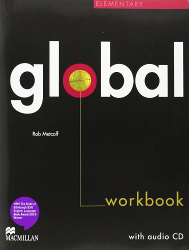 9780230430228: Global. Elementary. Workbook. No key. Con CD Audio. Per le Scuole superiori