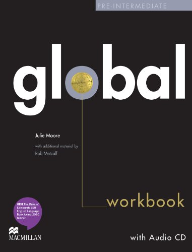 9780230430259: Global Pre-Intermediate Workbook without Answer Key with Audio CD